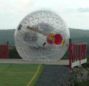 zorbing ball for rent